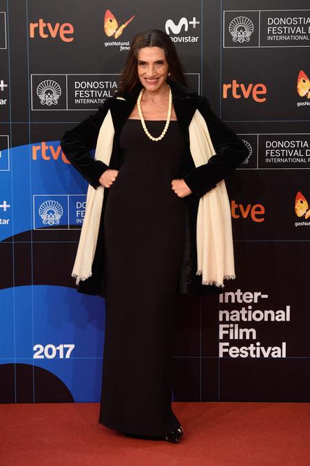 festival de cine de san sebastian alfombra roja Angela Molina