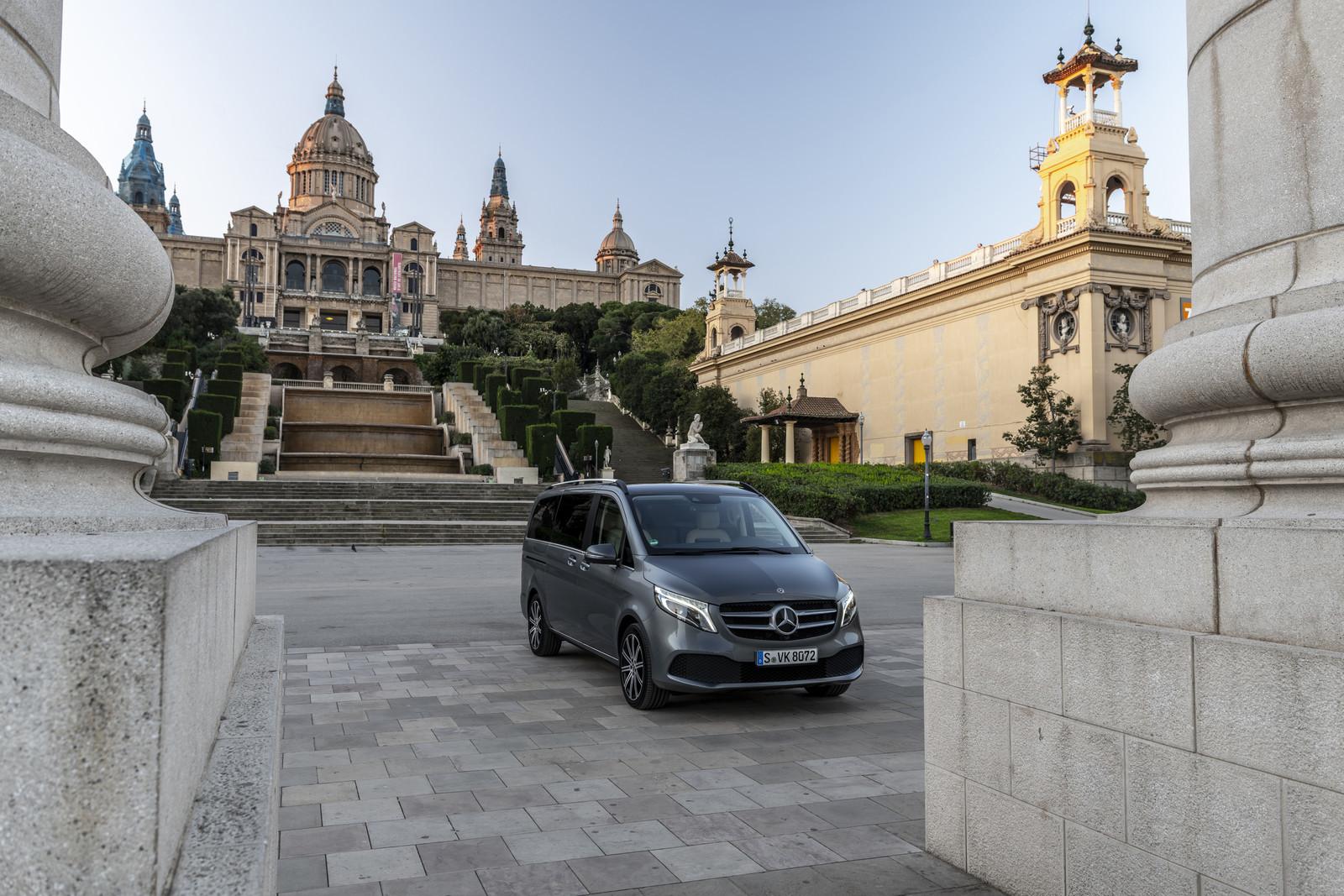 Foto de Mercedes-Benz Clase V 2019 (23/92)