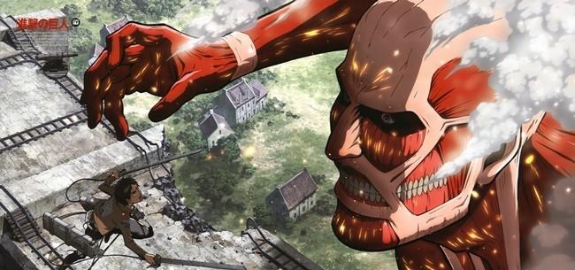 Attack on titan Eren colosal