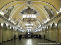 El metro de Moscú: arte bajo tierra