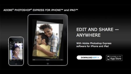 Photoshop Express: la evolución de Photoshop.com llega al iPhone y al iPad