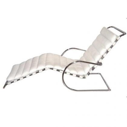 chaise longue Mies Van Der Rohe 1931