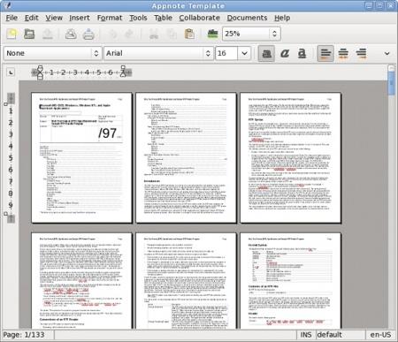 AbiWord 2.7.0: muchas mejoras de cara a la siguiente versión estable