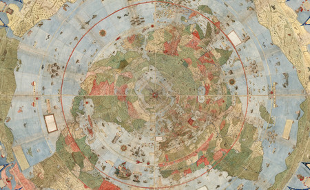 El mapamundi de Urbano Monte, una de las cartografías más alucinantes y grandiosas de la historia