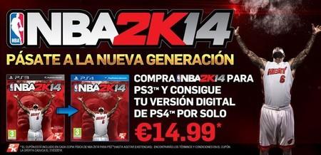 'NBA 2K14' hará fácil la transición de PS3 a PS4