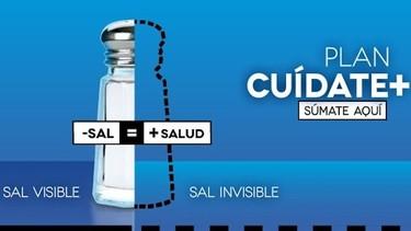 Cuídate más: menos sal es más salud