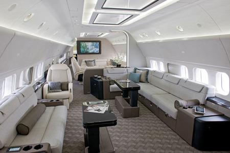 Viajar es un placer en el nuevo Boeing Business Jets (BBJ)