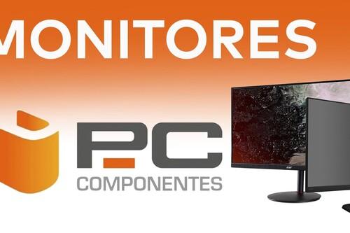 Estrenar monitor para jugar o trabajar con tu PC sale más barato con estos modelos en oferta en PcComponentes y con envío gratuito