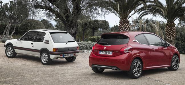 Peugeot 206 GTi y 208 GTi