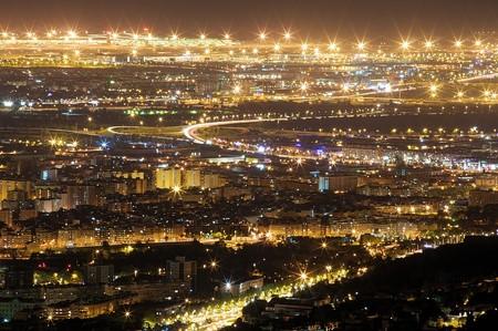 Así se ve Barcelona a hipervelocidad