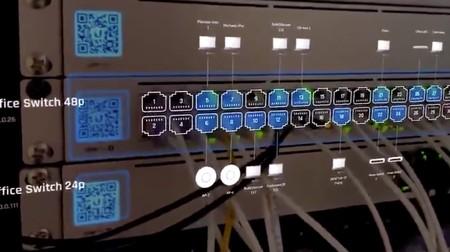 Identificar cables en un switch: he aquí una de las posibilidades de la AR en los iPhone o unas Apple Glass