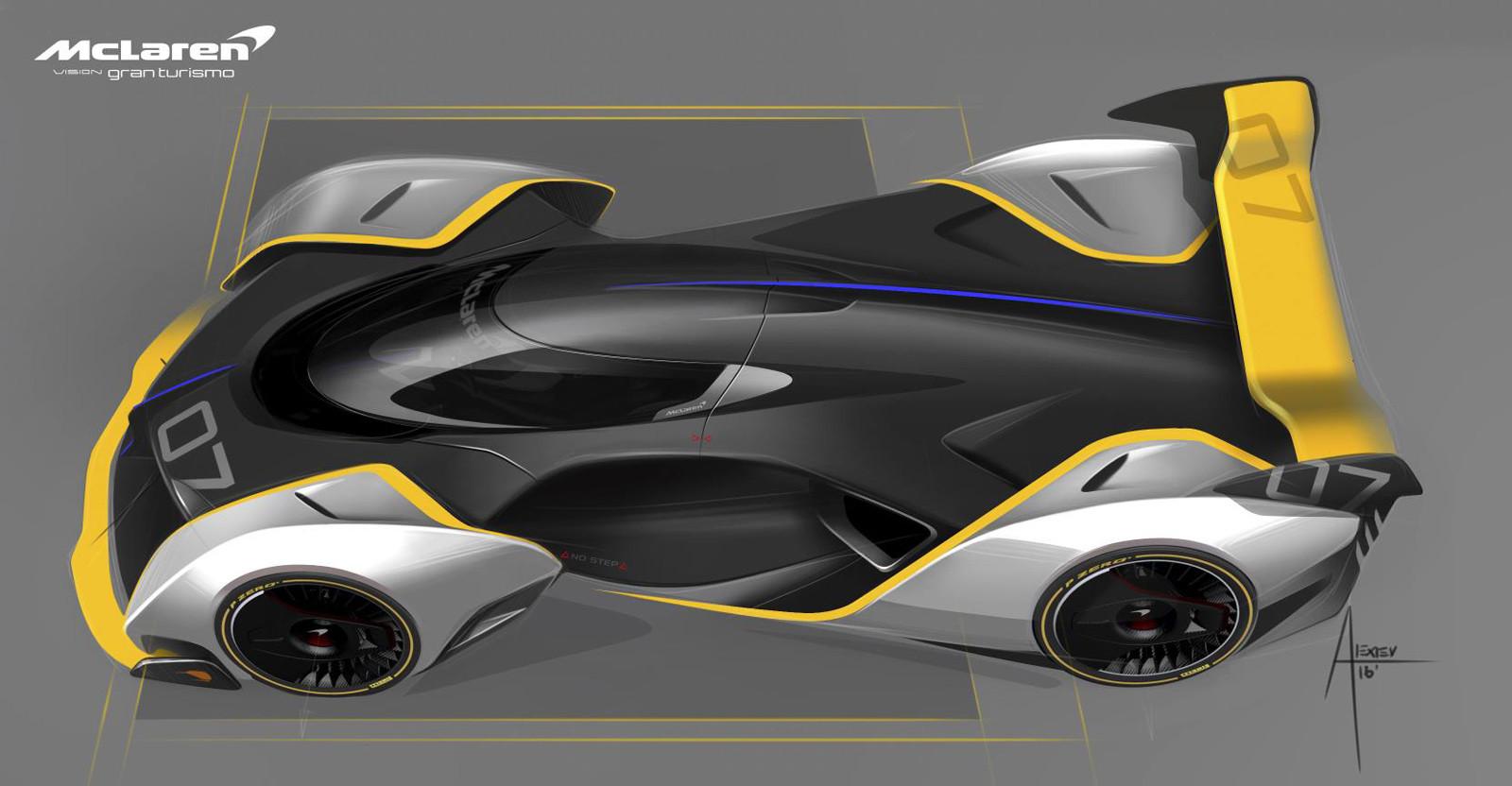 Foto de McLaren Ultimate Vision Gran Turismo (1/10)