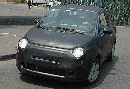 Primeras fotos espía del Fiat 500