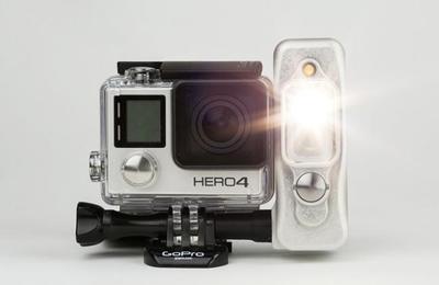 Sidekick, una lámpara de iluminación continua específica para las cámaras GoPro