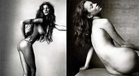 Kate Moss y Gisele Bundchen desnudas