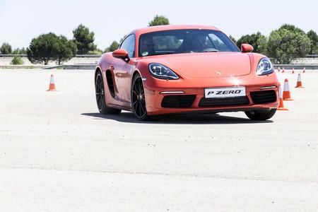 Conociendo el nuevo Pirelli P Zero con Porsche Cayman S, Lamborghini Huracán y compañía