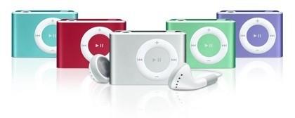 iPod shuffle: Ámalo u ódialo... ahora, en nuevos colores
