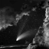 Las lágrimas de San Lorenzo en los desiertos del Néguev y del Sinaí capturadas por Neil Folberg