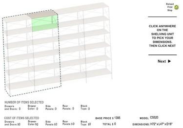 Diseña tus muebles de almacenaje con Modernica