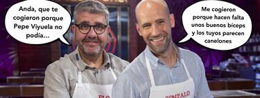 Así ha sido el enfrentamiento entre Florentino Fernández y Gonzalo Miró en 'MasterChef Celebrity 5'