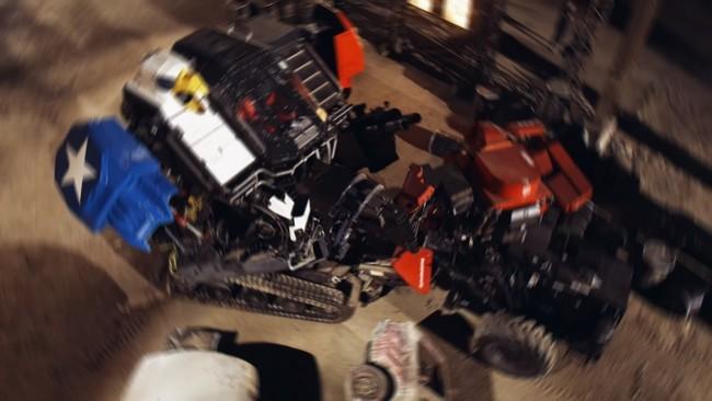 Pelea Robots Gigantes