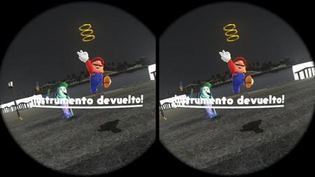 Mario de Switch en VR