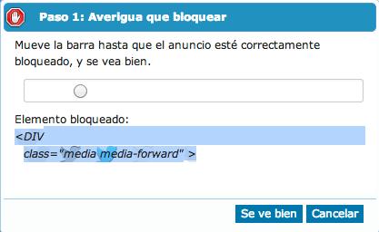 Bloquear imágenes de Twitter con Adblock