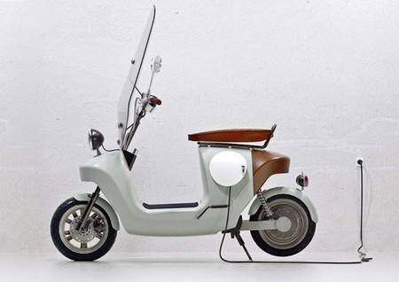 La moto eléctrica con carrocería de cáñamo