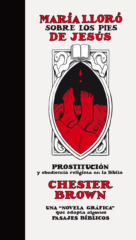 Chester Brown Maria Lloro Sobre Cubierta