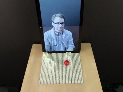 Estar en dos sitios a la vez podría ser una realidad gracias a esta interfaz física en 3D