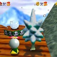 Super Mario 64: cómo conseguir la estrella Snowman's Lost His Head de Cool, Cool Mountain