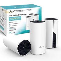 De nuevo en oferta flash, hoy tienes el kit de WiFi en malla TP-Link Deco P9 con 3 nodos por 196,99 euros en Amazon