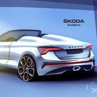 El Škoda Scala Spyder será un hipotético coche compacto descapotable propuesto por los estudiantes de la marca checa