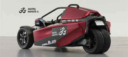 Presentado en Japón el prototipo híbrido 555TES Minute-S