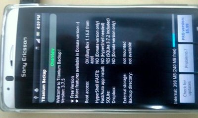 Sony Ericsson Xperia Arc, ya con acceso a Root gracias a XDA Developers