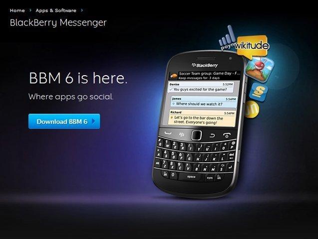 BlackBerry Messenger 6
