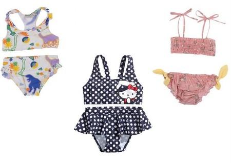 moda baño niña 2014