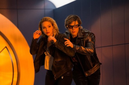 Jennifer Lawrence Evan Peters X Men Apocalipsis