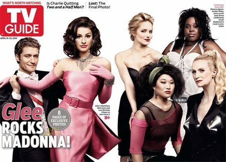 'Glee' homenajea a Madonna en un espectacular reportaje