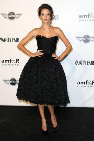 Alessandra Ambrosio Semana de la Moda de Milán