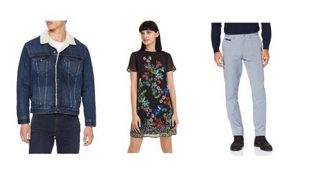 Chollos en tallas sueltas de pantalones, camisetas y blusas de marcas como Levi's, Desigual o El Ganso en Amazon