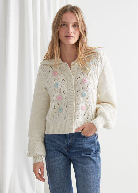 Other Stories Cardigans Blanco 02