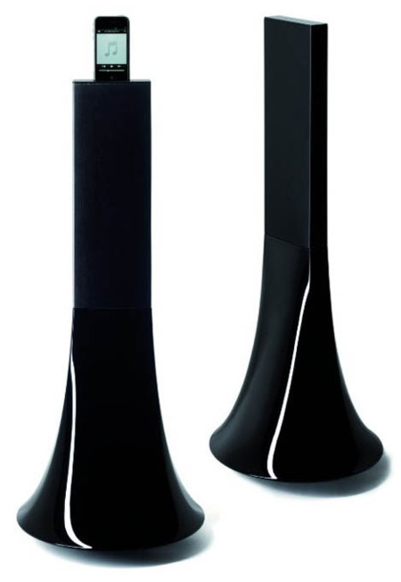 Parrot Zikmu, altavoces para iPod de Philippe Starck