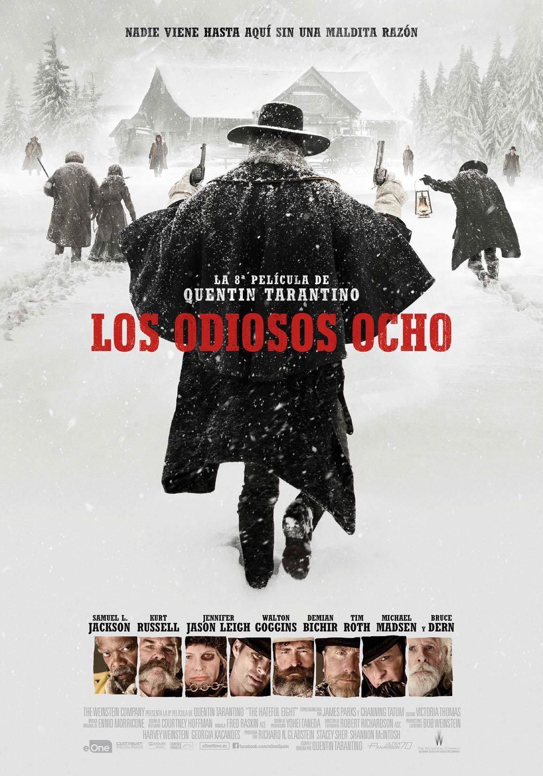 Foto de 'Los odiosos ocho', carteles (5/7)