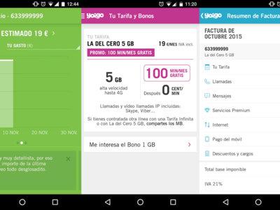 Yoigo por fin tiene aplicación oficial para hacer consultas y gestiones desde el mismo móvil