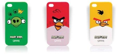 Angry Birds para iPhone4, también en carcasa