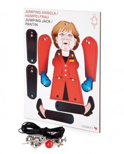 Merkel jumping