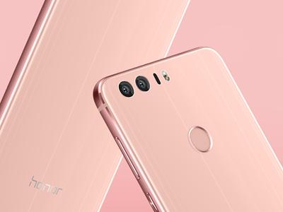 El Honor 8 llegará próximamente a Europa en una nueva tonalidad rosa: 'Sakura Pink'