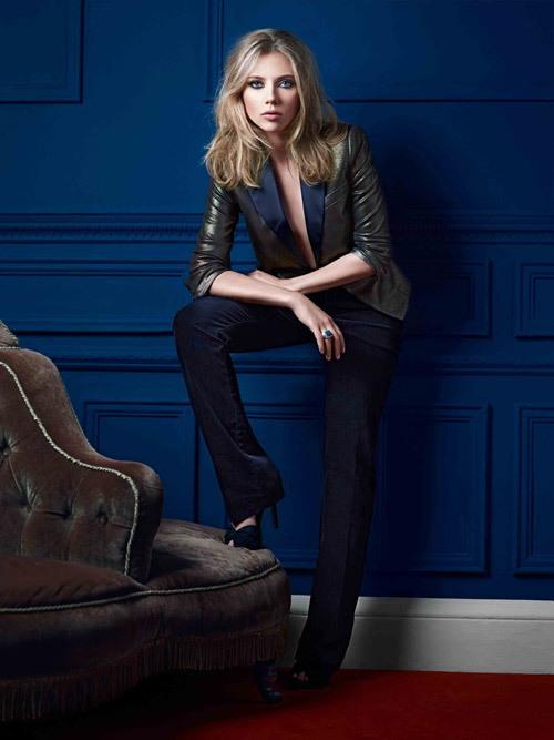 Foto de Nuevas imágenes de Scarlett Johansson para Mango, Otoño-Invierno 2010/2011: estilo para la mujer (4/7)