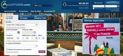 Accor Hotels te ofrece un 30% de descuento